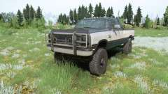 Dodge Power Ram 250 Club Cab 1990 for MudRunner