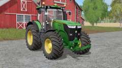 John Deere 7R-seriᶒs for Farming Simulator 2017