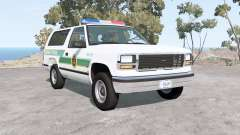 Gavril D-Series U.S. Border Patrol for BeamNG Drive