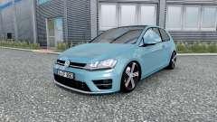 Volkswagen Golf R-Line (Typ 5G) 2013 v2.0 for Euro Truck Simulator 2