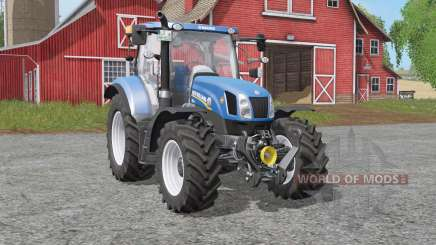 New Holland T6-seriᴇs for Farming Simulator 2017