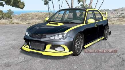 Hirochi Sunburst Blackline v2.0 for BeamNG Drive