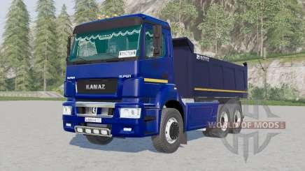 Kamaz-6520 for Farming Simulator 2017