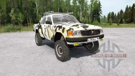 Gaz-31029 Volga 4x4 for MudRunner