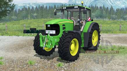 John Deere 7530 Premiuꝳ for Farming Simulator 2013
