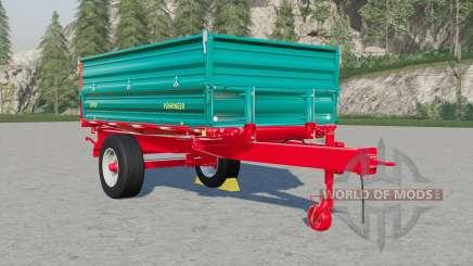 Single axle tipper trailer for Farming Simulator 2017