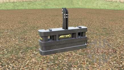 Meyer KB 80〡105〡120 for Farming Simulator 2017