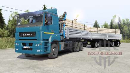 Kamaz-65Ձ0 for Spin Tires