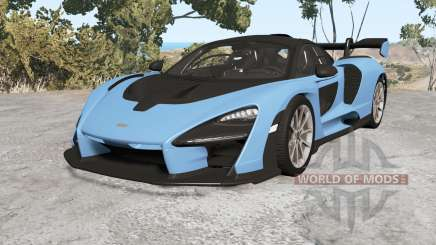McLaren Senna (P15) 2018 v1.1 for BeamNG Drive