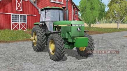 John Deere 4055-series for Farming Simulator 2017