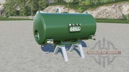 Goma manure tank for Farming Simulator 2017