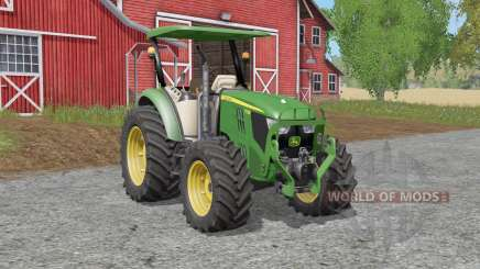 John Deere 5M-serieᶊ for Farming Simulator 2017