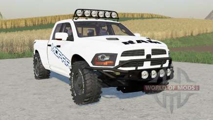 Dodge Ram 1500 Quad Cab Pre-Runner for Farming Simulator 2017