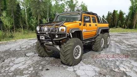 Hummer H2 SUƬ 6x6 for MudRunner