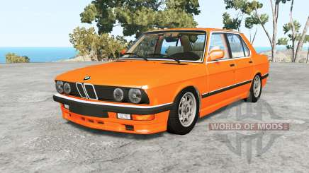 BMW M5 (E28) 1985 v1.18 for BeamNG Drive