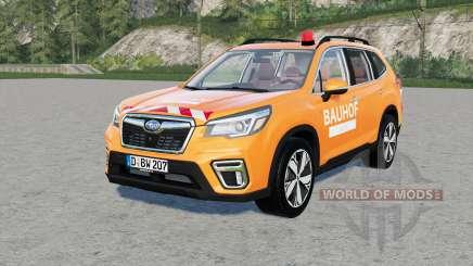 Subaru Forester Bauhof Weber for Farming Simulator 2017