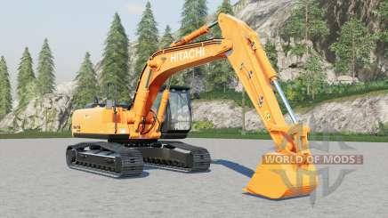 Hitachi ZX200LCN for Farming Simulator 2017