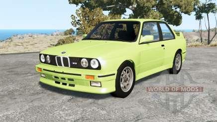 BMW M3 coupe (E30) 1990 v1.18 for BeamNG Drive