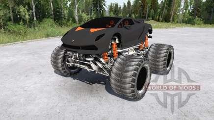 Lamborghini Sesto Elemento Monster Truck for MudRunner