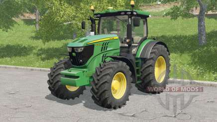 John Deere 6R-serɨes for Farming Simulator 2017