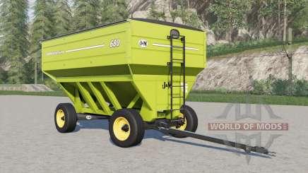 J&M 680 gravity wagon for Farming Simulator 2017