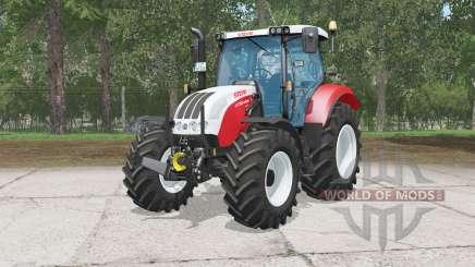 Steyr 4130 Profi CVT for Farming Simulator 2015