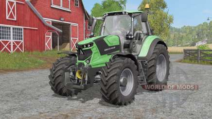 Deutz-Fahr Serie 6 TTꝞ for Farming Simulator 2017
