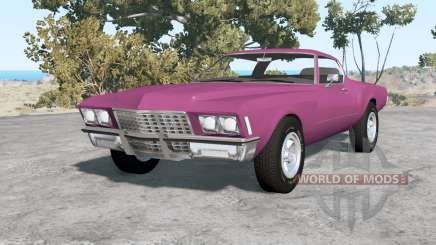 Buick Riviera (49487) 1971 v1.1 for BeamNG Drive