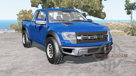 Ford F-150 SVT Raptor SuperCab 2013 for BeamNG Drive