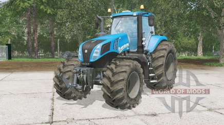 New Hollanᶁ T8.320 for Farming Simulator 2015