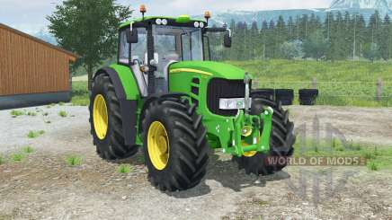 John Deere 7530 Premiuꬺ for Farming Simulator 2013
