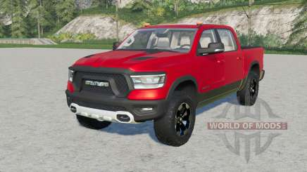 Ram 1500 Rebel Crew Cab (DƬ) 2019 for Farming Simulator 2017