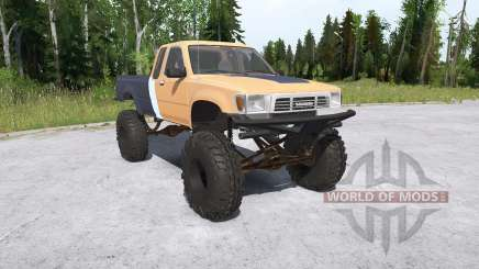 Toyota Hilux Xtra Cab crawler for MudRunner