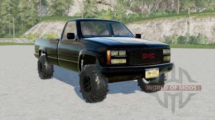 GMC Sierra K2500 Regular Cab 199ⴝ for Farming Simulator 2017