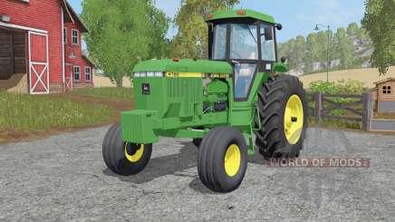 John Deere Ꝝ760 for Farming Simulator 2017