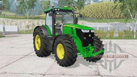 John Deere 7290R & 8370Ɍ for Farming Simulator 2015