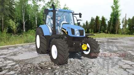 New Holland T6.160 for MudRunner