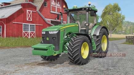 John Deere 8R-seʀies for Farming Simulator 2017