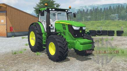 John Deere 6170R & 6210Ꞧ for Farming Simulator 2013