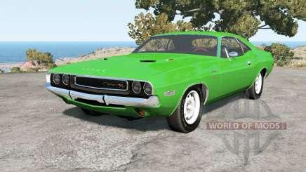 Dodge Challenger RT hardtop (JS-23) 1970 for BeamNG Drive