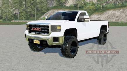 GMC Sierra 3500 HD Regular Cab for Farming Simulator 2017