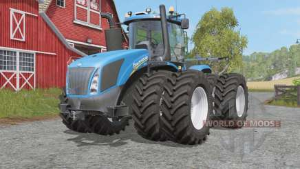 New Holland T9.4ƽ0 for Farming Simulator 2017
