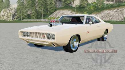 Dodge Charger RT 1970 for Farming Simulator 2017
