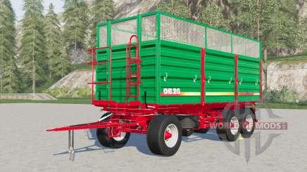 Metaltech DB 6〡8〡10〡12〡14〡20 for Farming Simulator 2017