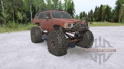 Toyota 4Runner (LN61) lifted for MudRunner
