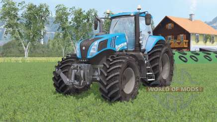 New Hollanɒ T8.320 for Farming Simulator 2015