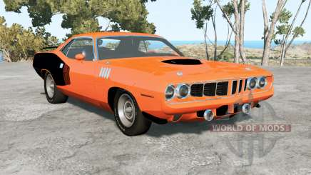 Plymouth Hemi Cuda 1971 for BeamNG Drive