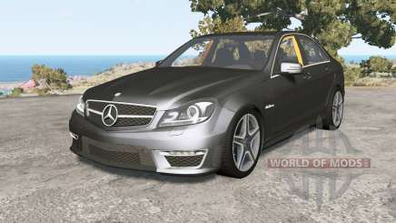 Mercedes-Benz C 63 AMG (W204) Ձ011 for BeamNG Drive