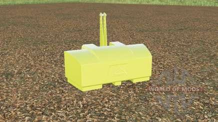 AGCO weight 2800 kg. for Farming Simulator 2017