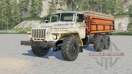 Ural 55ⴝ7 for Farming Simulator 2017